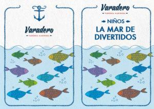 AF Cuadernillo para niños varadero colores